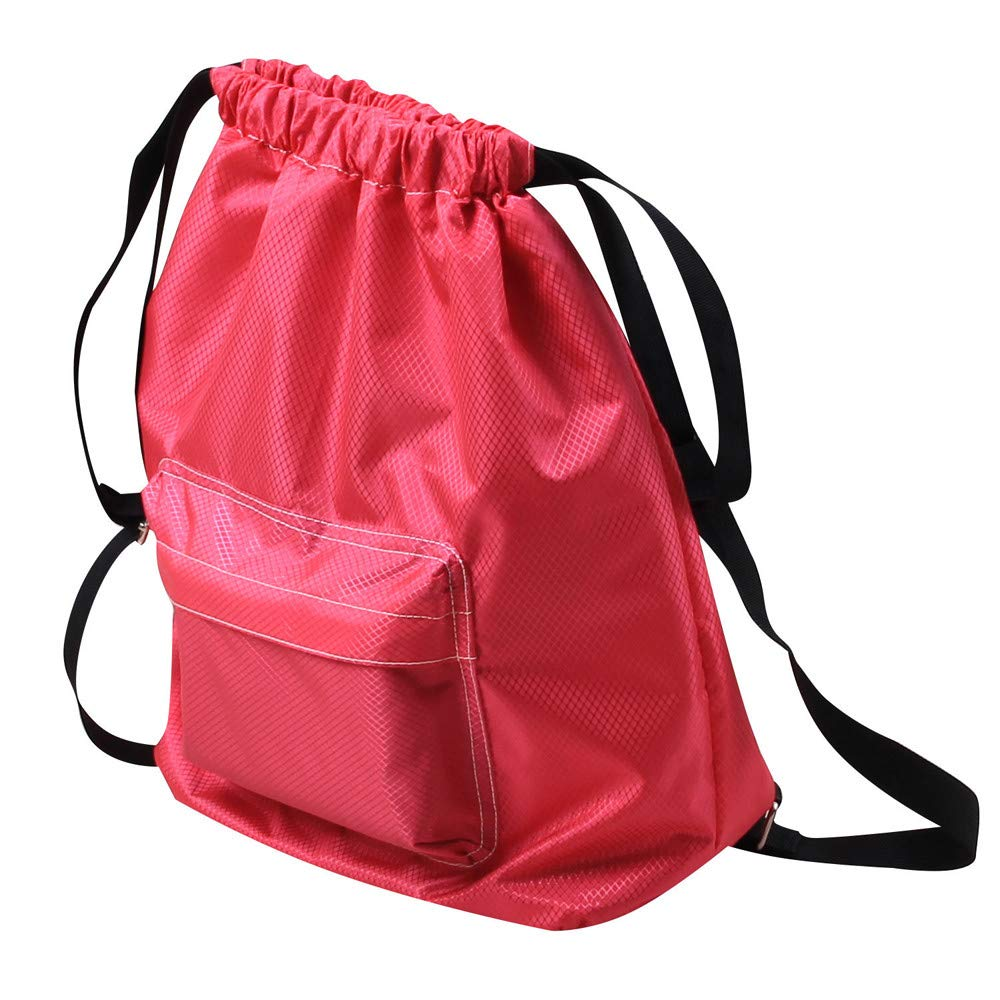 PENGYGY Swimming Swim Pool Waterproof Dry and Wet Separation Drawstring Backpack