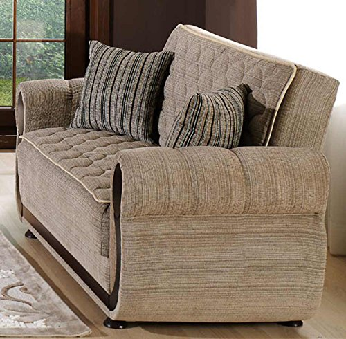 Argos 2 Pc Zilkade Light Brown Living Room Set Sofa Bed And Loveseat Furniture Furniture Sets