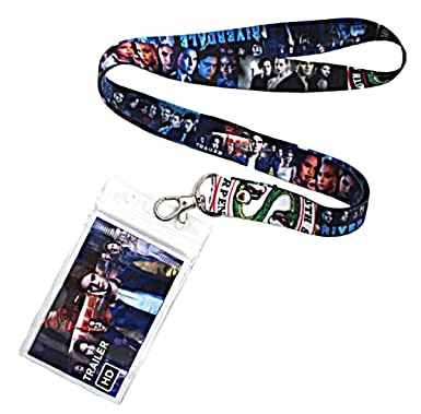 Riverdale Tv Series Classic Characters Id Holder Lanyard Keychain
