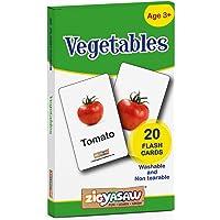 Zigyasaw Vegetables Flash Cards