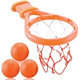 3 Bees & Me Bath Toy Basketball Hoop & Balls Set for Boys and Girls