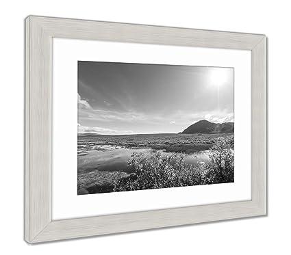 Amazon.com: Ashley Framed Prints Landscapes On Denali Highway Alaska ...