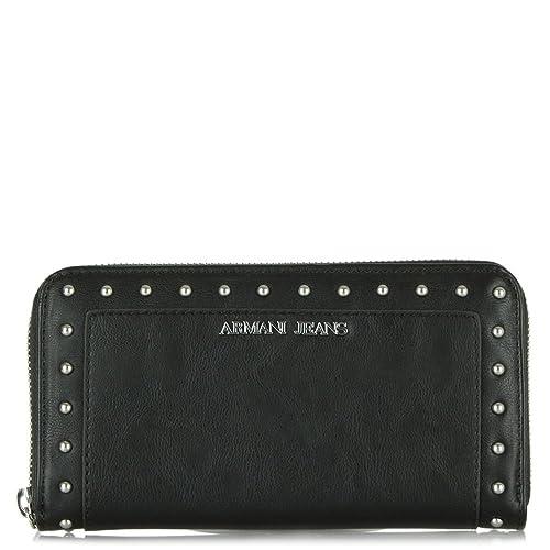Armani Jeans - Cartera para mujer mujer, color Negro, talla: Amazon.es: Zapatos y complementos