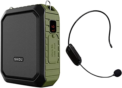 Portable Mini Voice Amplifier Wired Microphone 10W AMPLIFY YOUR VOICE WITH MASK
