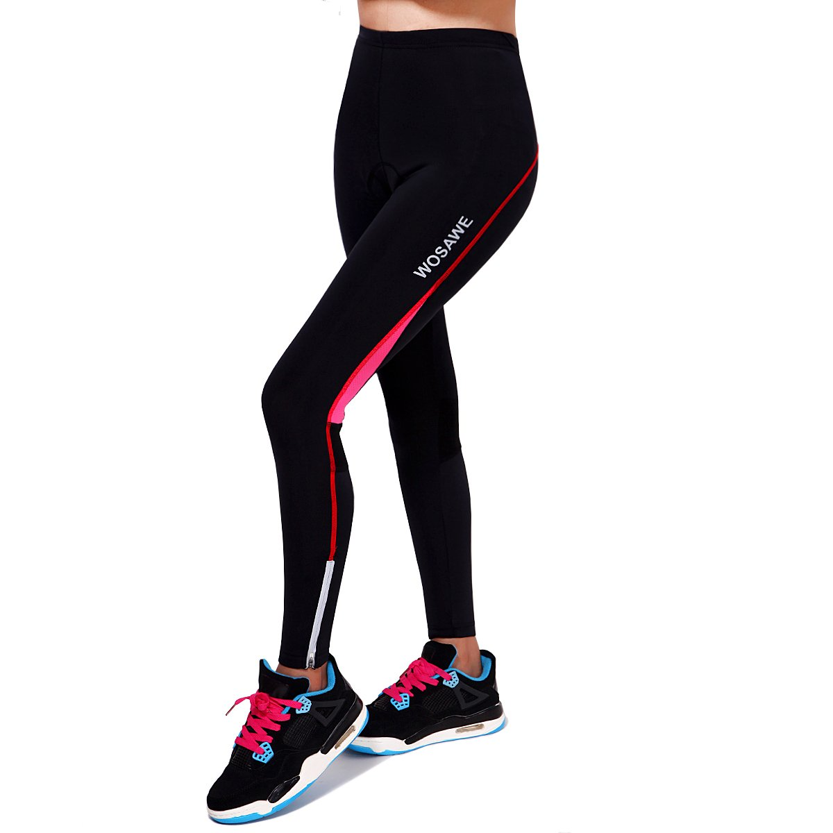 Wolfbike Women's Compression Tights Pants Base Layer Leggings Running Workout