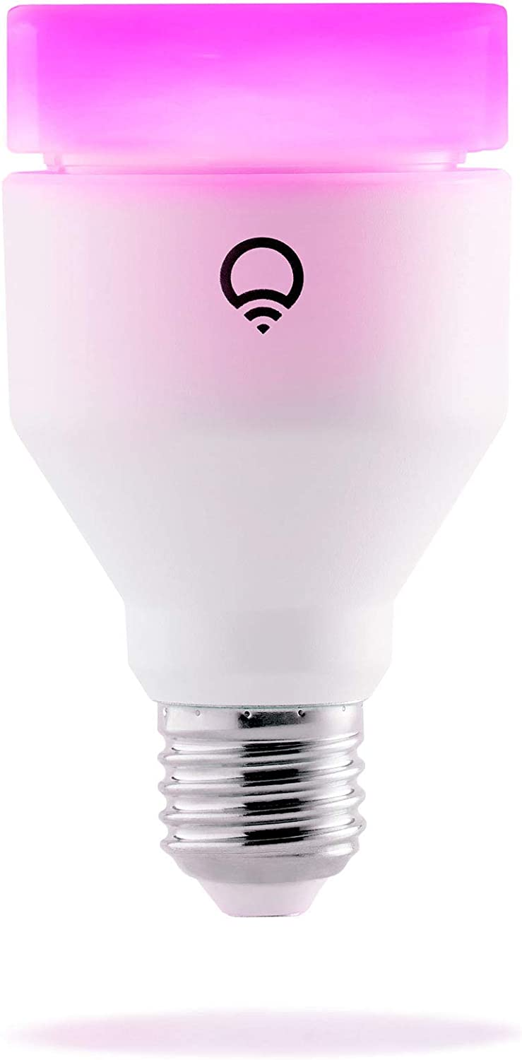 LIFX (E27) Ampoule LED connectée Wi-Fi, Ajustable, Multicouleur, Variable, Pas de Hub...