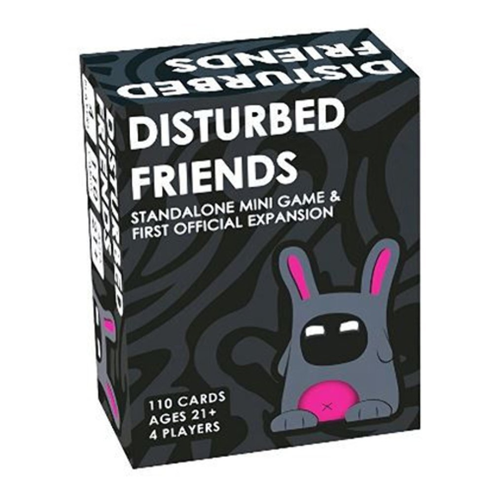 Disturbed Friends https://amzn.to/2BWHfb0