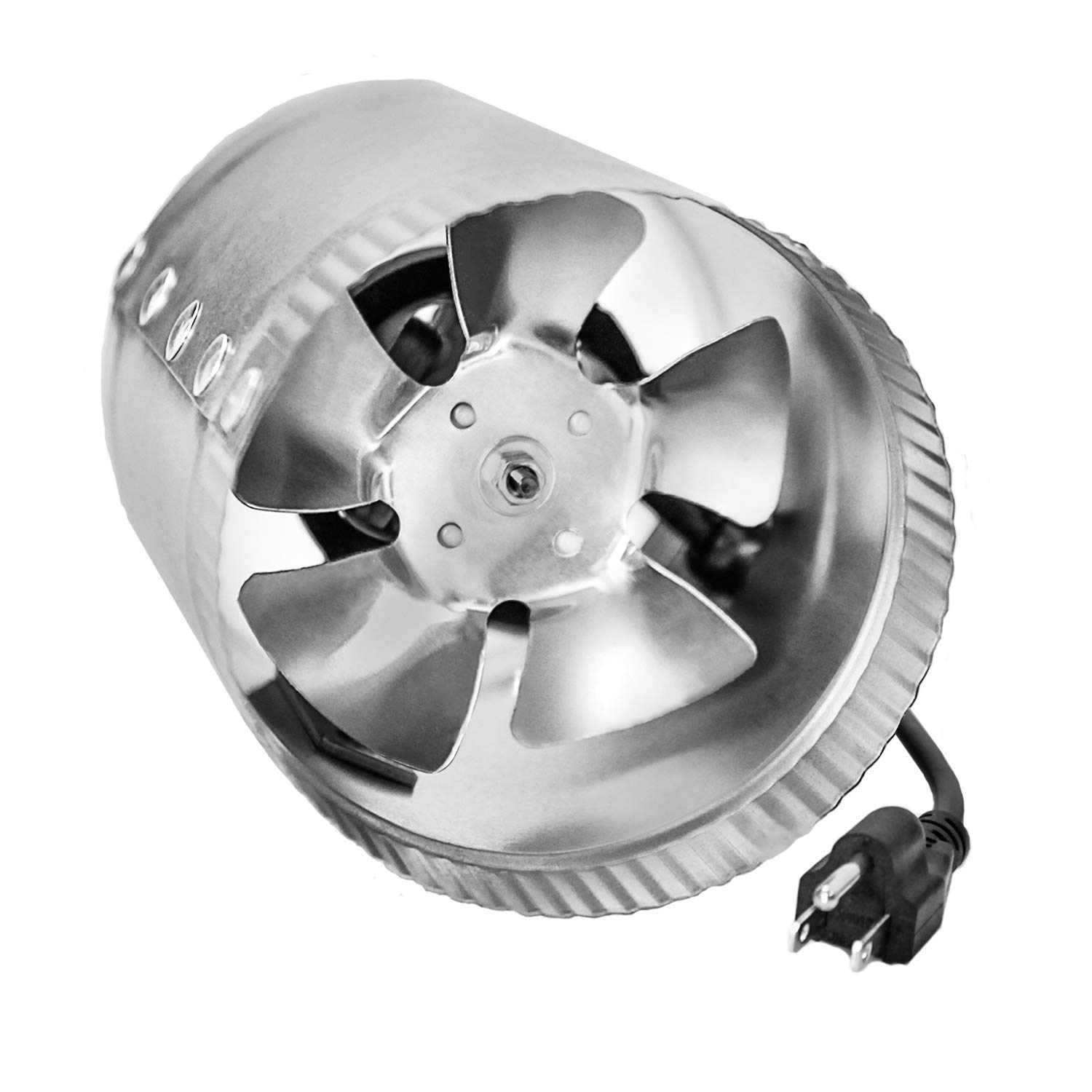 """iPower GLFANXBOOSTER4 4 Inch 100 CFM Booster HVAC Fans, 4"""""""