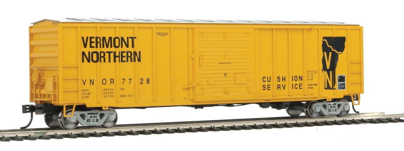 50 ' ACF exterior-post Boxcar – を実行する準備 – -バーモント州Northern # 7728   B0755JP63F