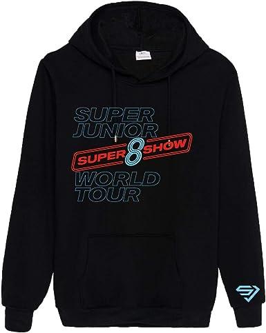 KPOP Super Junior Sudaderas con Capucha de Manga Larga ...