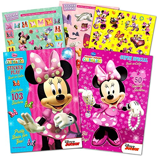 Minnie Coloring Stickers Bendon Publishing product image