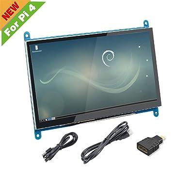 Amazon.com: Raspberry Pi 3 B+ 3.5 pulgadas pantalla táctil ...