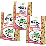 Organic Tomuka paste Set of three coconut milk input kaffir lime leaves with organic JAS gluten-free vegan Halal [Parallel import]