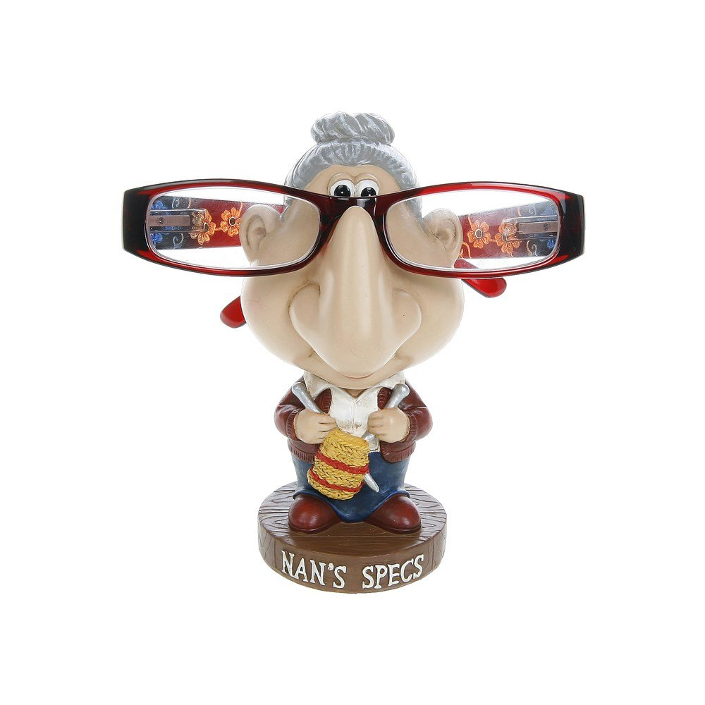 Comical Nan Spectacles Glasses Stand / Holder by Joe Davies ukgiftstoreonline 40426