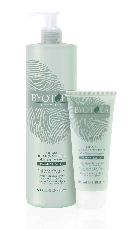 Byothea Crema Defaticante Piedi, Bellezza e Cosmetica - 500 ml 8054377033132