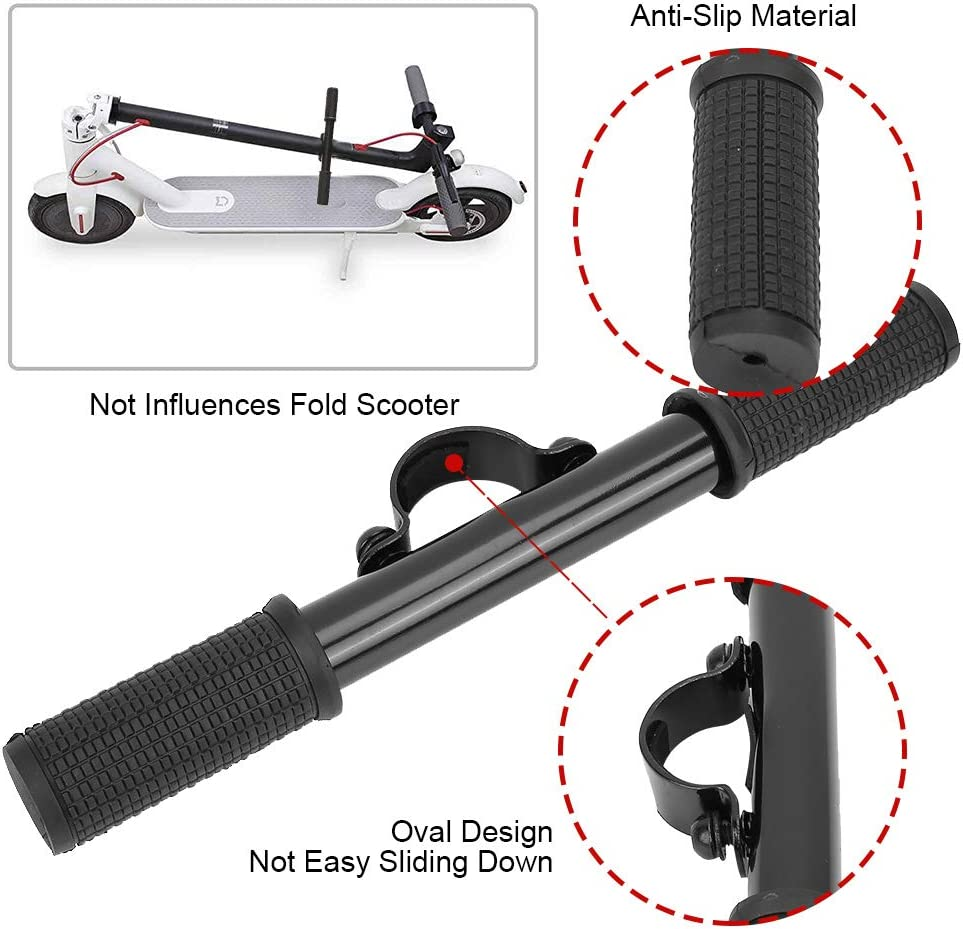 Electric Scooter Extra for Xiaomi M365 Electric Scooter Electric Skatebaord Handle Grip Bar Safe Holder Safe for Kids Electric Scooter Handle Grip Bar Safe Holder Safe Gadget