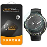 [2-Pack] Supershieldz for Ticwatch S (Sport) Tempered Glass Screen Protector, Anti-Scratch, Anti-Fingerprint, Bubble Free, Lifetime Replacement Warranty