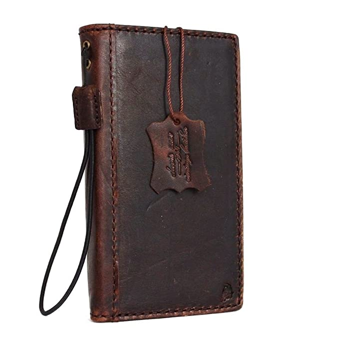 huge discount c169b ad9c8 Genuine Real Leather Case for HTC One M8 Book Pro Wallet Handmade Slim Retro