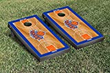 New York NYK Knicks NBA Basketball Regulation Cornhole Game Set Basketball Court Version