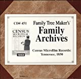 Family Tree Maker's Family Archives - Census Microfilm Records: Tennessee, 1850 (CD#306)
