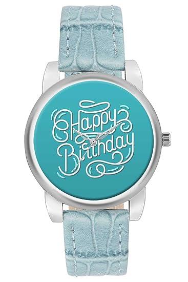 Buy Women S Watch Bigowl Happy Birthday Designer Analog Wrist Watch