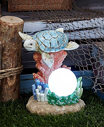 Outdoor Lighted Turtles - 4