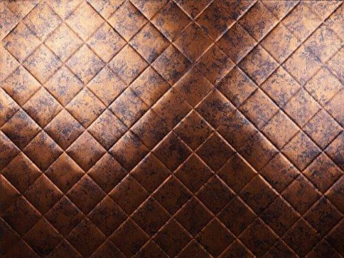 Real Copper Tiles (Backsplash Tile Mini Quilted Moonstone Copper)