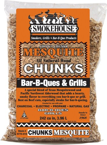 Smokehouse 97750100000 Bbq Wood Chunks - Mesquite 1.75lb bag