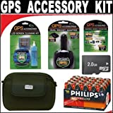 Deluxe DB Roth Accessory Kit for the Garmin eTrex Vista CX Color Handheld GPS