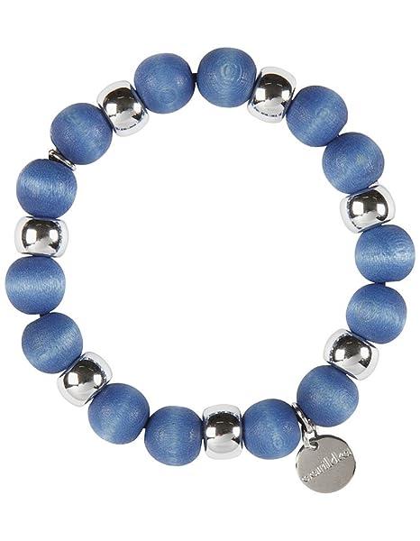 Aarikka Minttu finnisches Armband, Durchmesser 5 cm, dunkelblau