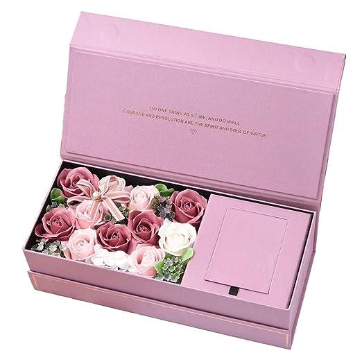 Flores hechas a mano y el regalo de flores RosesFe Caja de ...