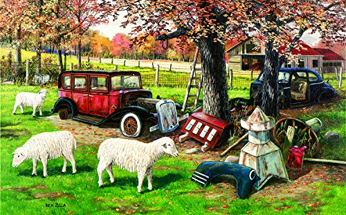 SunsOut Out to Pasture 300 Piece Jigsaw Puzzle