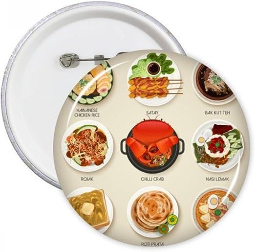 DIYthinker Singapur sabrosos platos tradicionales de la Ronda ...