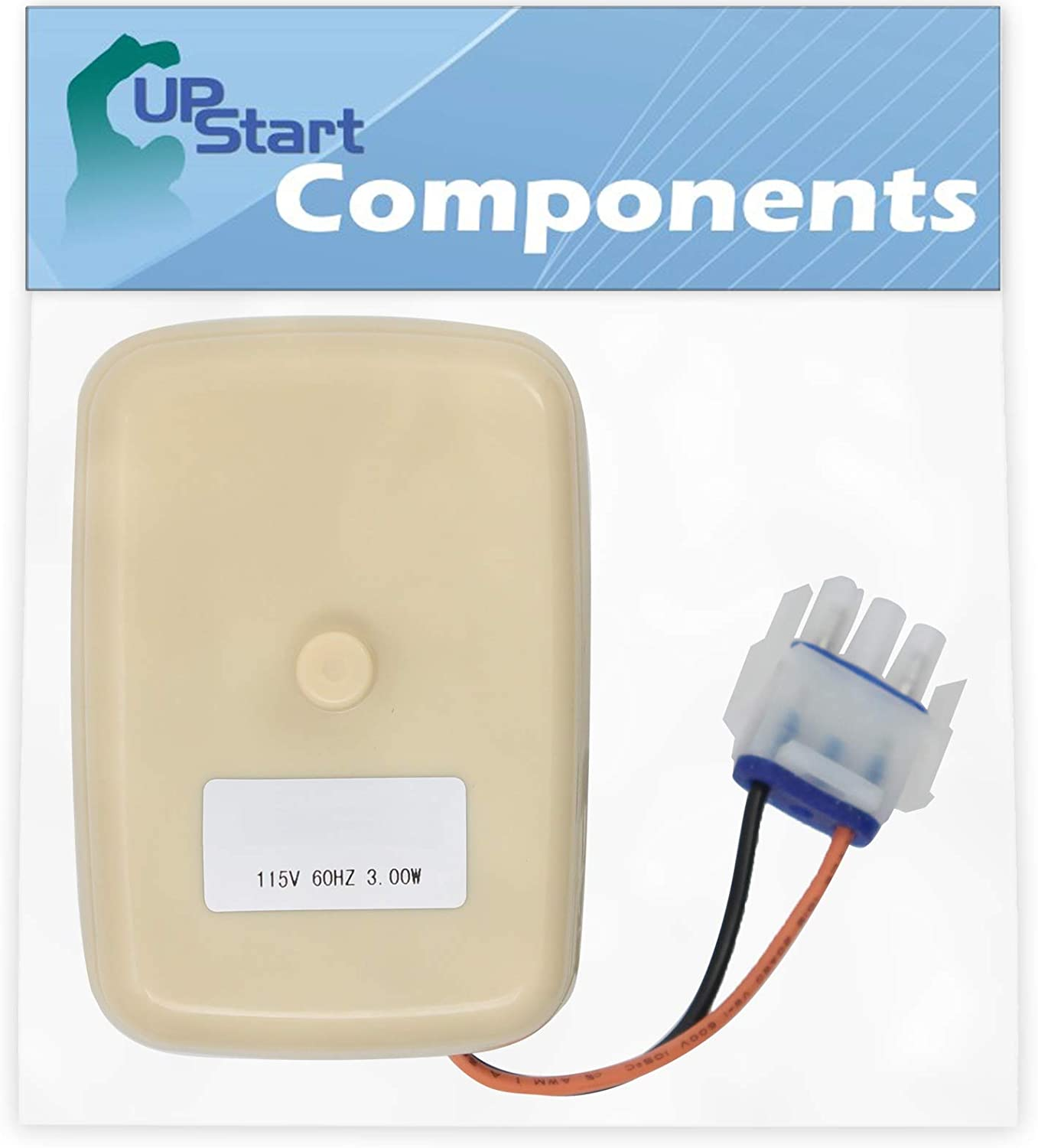WR60X10141 Evaporator Fan Motor Replacement for General Electric GTH17DBC2RWW Refrigerator UpStart Components Brand Compatible with WR60X23584 Fan Motor