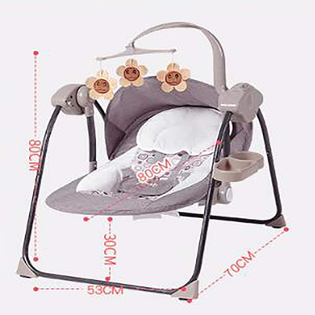 Rocker Baby Swing Seat Chira Indoor Outdoor Supporto Bluetooth da Neonato a Bambino Smart Connection Automatic Bouncer Culla New Born