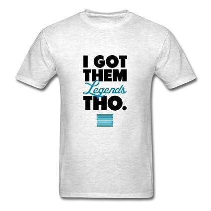 f2891ce43c5 Men I Got Them Legends Tho Retro Jordan 11 Blue Shirt Customized Style  Xx-large