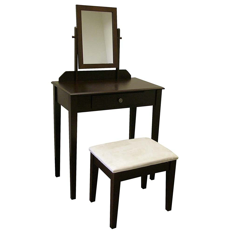Amazon.com: ORE International H206ES Vanity Set, Espresso: Kitchen ...
