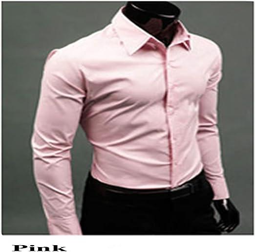 Lamdoo Fashion para Hombre Estilo Vestido Informal Slim Fit ...