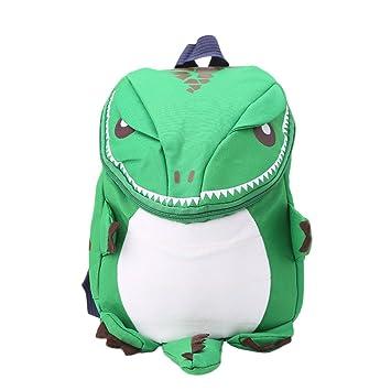 SimpleLife Mochila de Dinosaurio niños pequeños, niñas y niños, Mochila Infantil de Dibujos Animados en 3D Mochila de guardería para niños: Amazon.es: Hogar