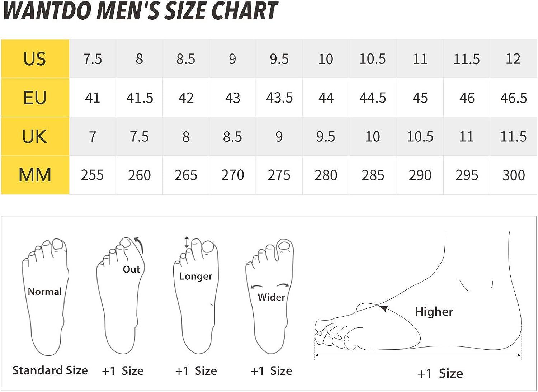 Wantdo Homme Chaussures de Randonn/ée Basse Imperm/éables /à leau Running Trekking en Plein Air Jogging Alpinisme Hydroguard