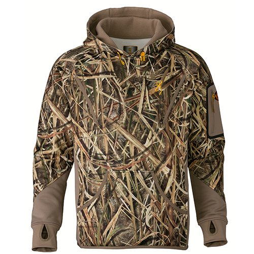 24bc86de07ecb Browning 3016162503 Wicked Wing Smoothbore Fleece Hoodie, Mossy Oak Shadow  Grass Blades, Large