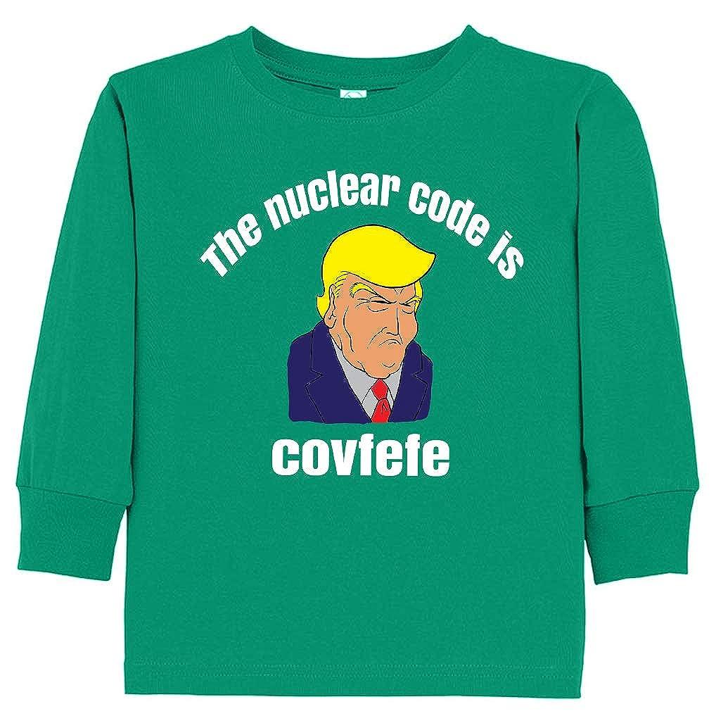 Tenacitee Babys Trump The Nuclear Code is Covfefe Shirt