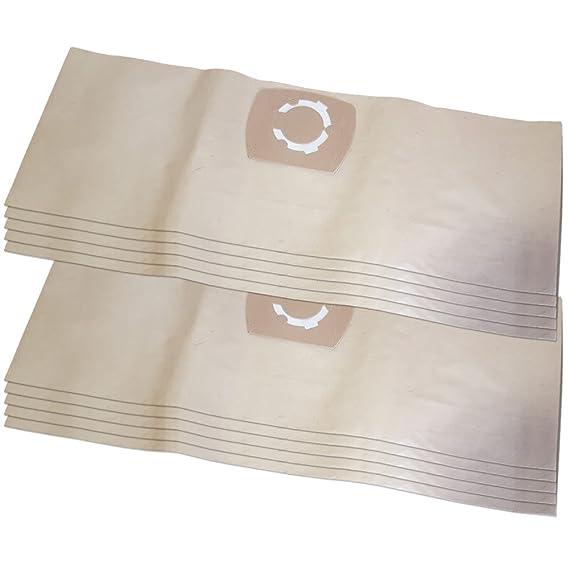 26 06 805 Nilco 10x Staubsaugerbeutel Papier für Fakir