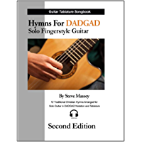 Hymns for DADGAD Solo Fingerstyle Guitar Second Edition (DADGAD Guitar) book cover