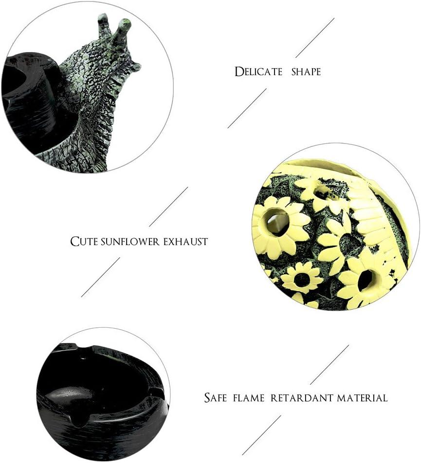 Monsiter Ashtray Creative Snail Ashtray Crafts Decoration