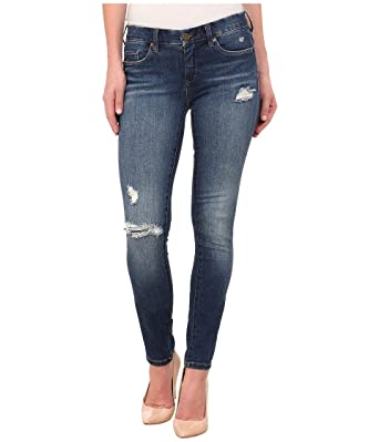 bc0c8b68aa Blank NYC Women's Ripped Skinny Jeans in Blue, 26 X 31 at Amazon ...