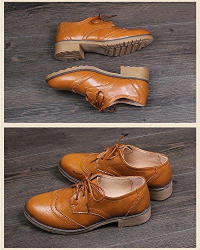 Marron Mrs Femme à Lacets Duberess Ville Chaussures de pour TAw7T8xZ