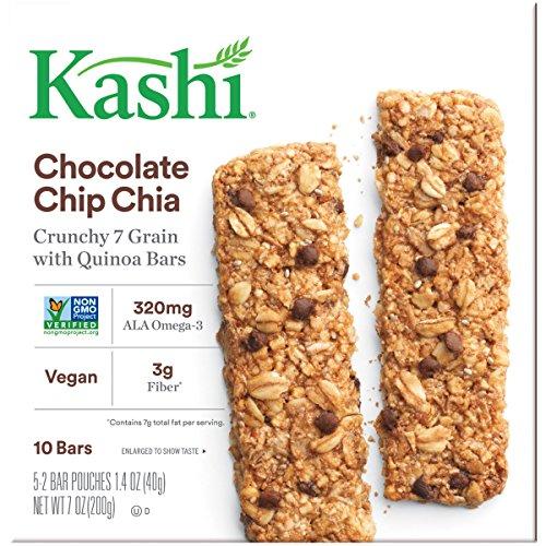 Review Kashi Crunchy Chia Bar,