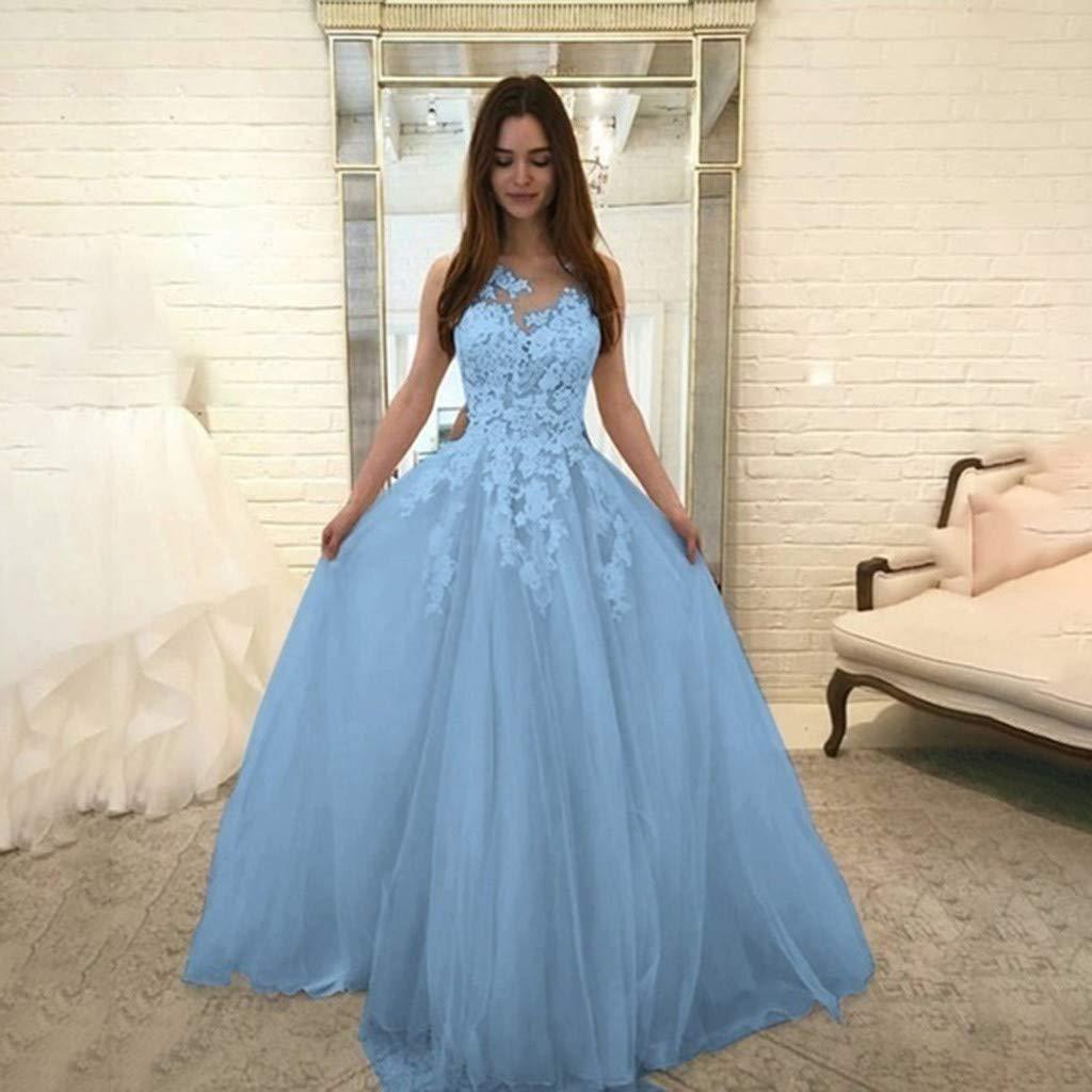 New Wedding Dress,Fashion Women Sleeveless Lace Chiffon Ball Gown Puffy Tulle Dress Bride Elegant Evening Party Dress