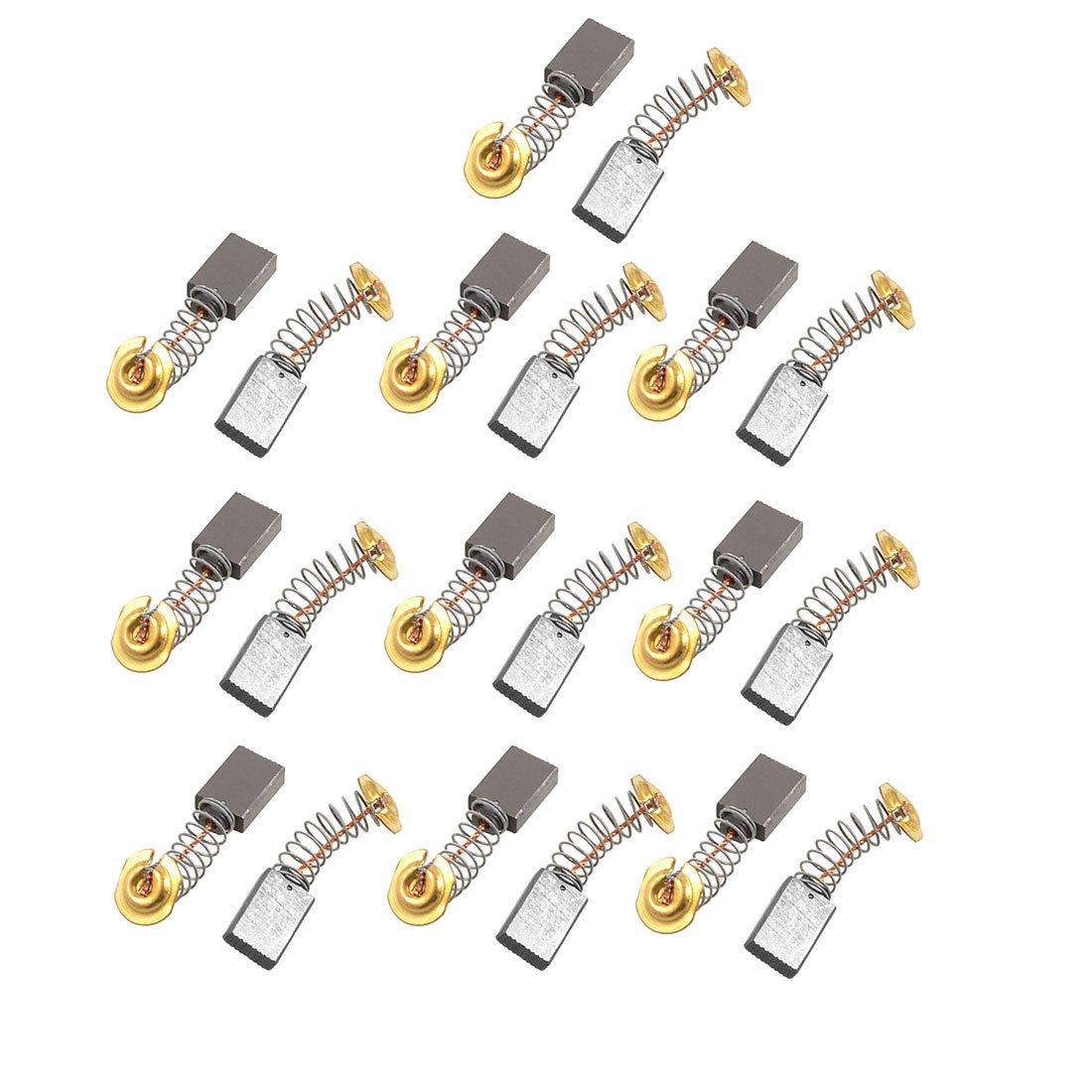 uxcell 20 Pcs CB303 0.59'' x 0.43'' x 0.19'' Carbon Brush for Makita Power Tool